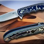 Jan Wahl Woestyn Liner lock flipper with Elmax blade