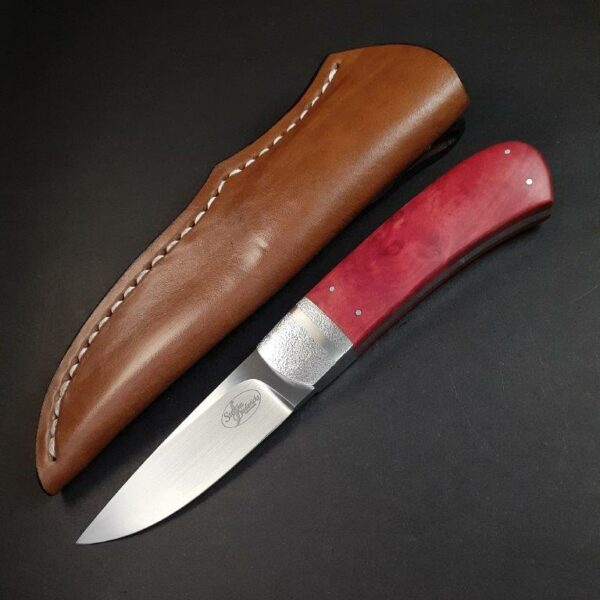 No 7. Hunter - N690 & Red Ivory Wood