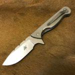 Alex Conchar knives carbon flipper