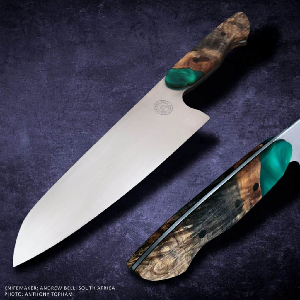 AndrewBell KZNKnifemakers Knife of the Month - April 2021