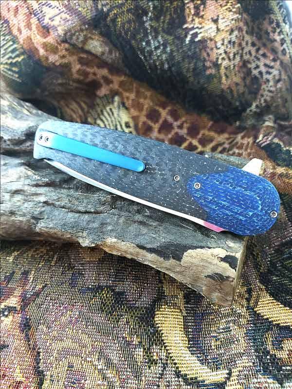 Francois Massyn Blue Twill CF flipper
