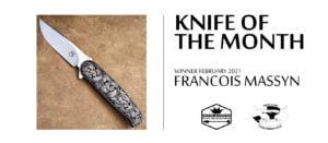 KOTM Feb2021 FrancoisMassyn KZNKnifemakers Knife of the Month - February 2021