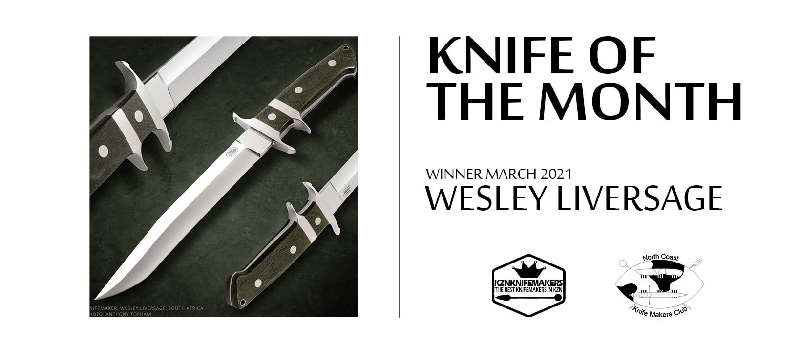 Knifeof the month winner March 2021