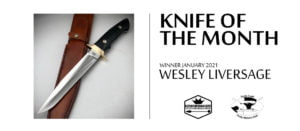 Knife of the Month - Wesley Liversage