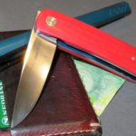 Andrew Bell Knives Red pocket folder