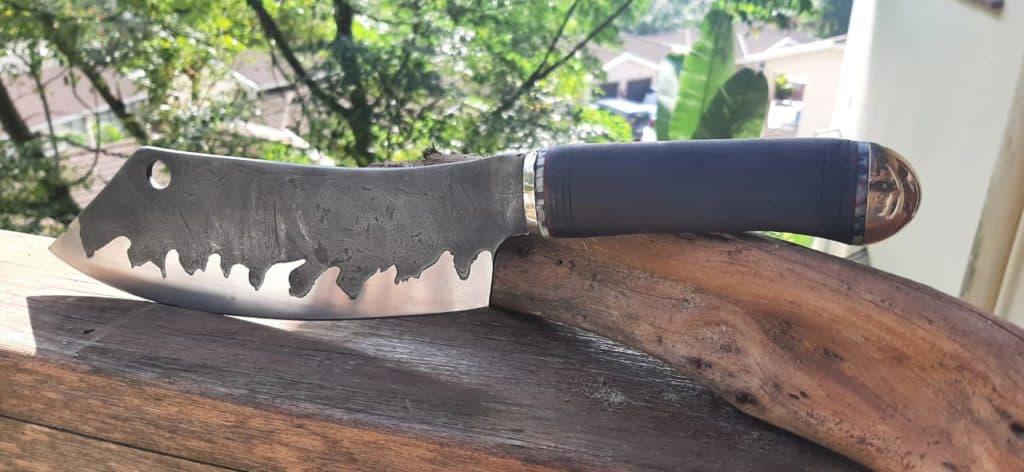 MarkStephan KZNKnifemakers Knife of the Month - April 2021