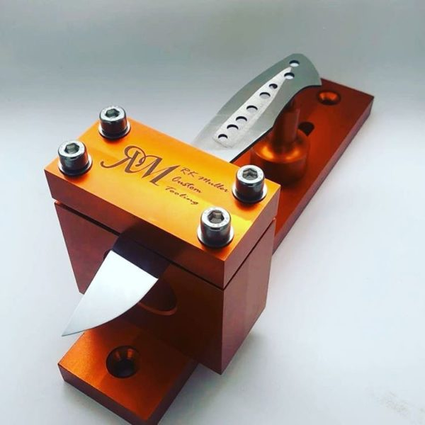 Tapered Tang Drilling Jig