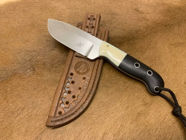 Alexander Conchar - Hippo Tooth Hunting Knife with sheath